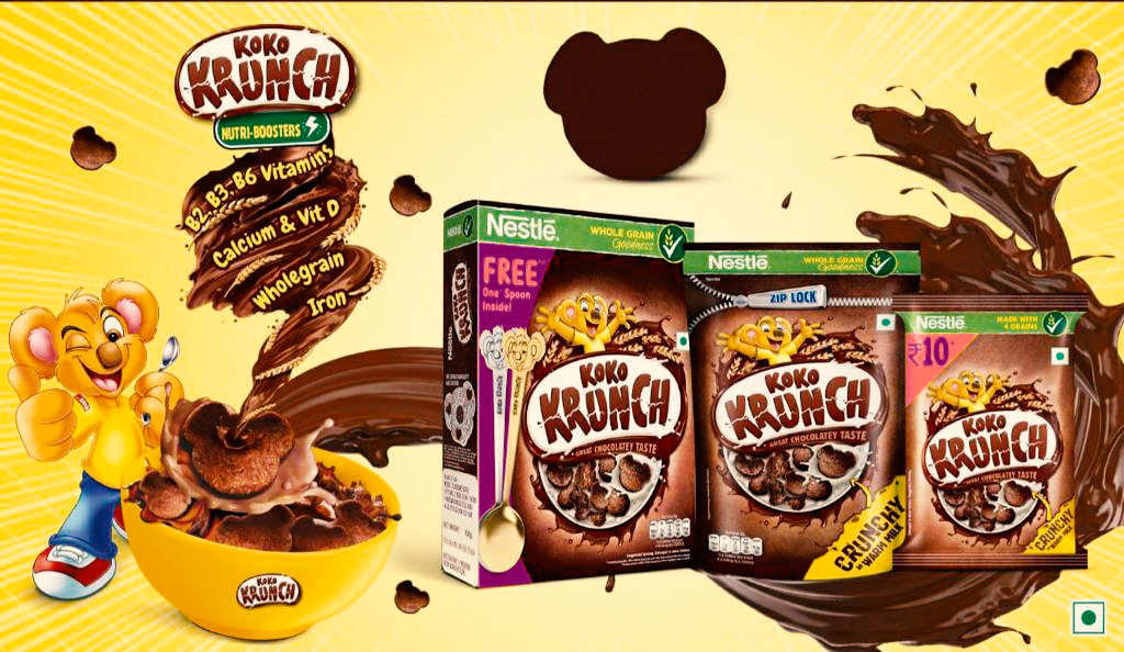 Koko Krunch bear Spoon Pack